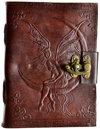 Fairy Moon leather w/ latch