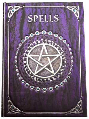 Spell Book purple journal