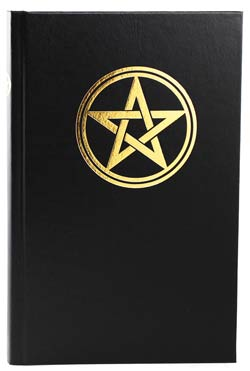 "Small Pentagram Book of Shadows 5"" x 8"" (hc)"