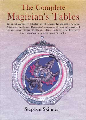 Complete Magician`s Tables (hc) by Stephen Skinner