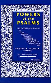 Powers of the Psalms by Anna Riva