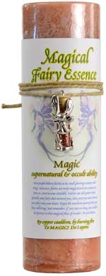 Magic Pillar Candle with Fairy Dust