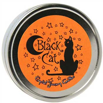 Black Cat travel tin