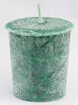 Patchouli Palm votive(green)