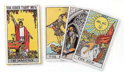 Rider-Waite Mini tarot deck by Waite, A.E.