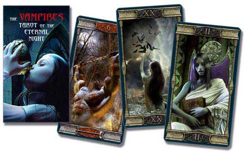 Vampire Eternal Night tarot