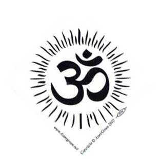 Om bumper sticker