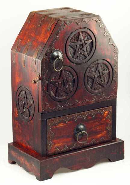 Pentagram Chest and Cupboard