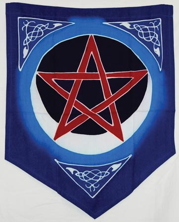 Flag: Pentacle Moon