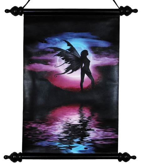 "Twilight to Starlight Wall Scroll 12"" wide by 18"" long (aprox.)"