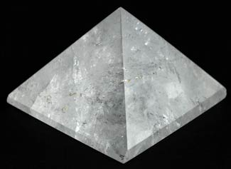 Large Quartz Crystal Pyramid