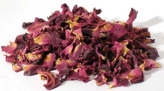 Red Rose Buds & petals 2oz