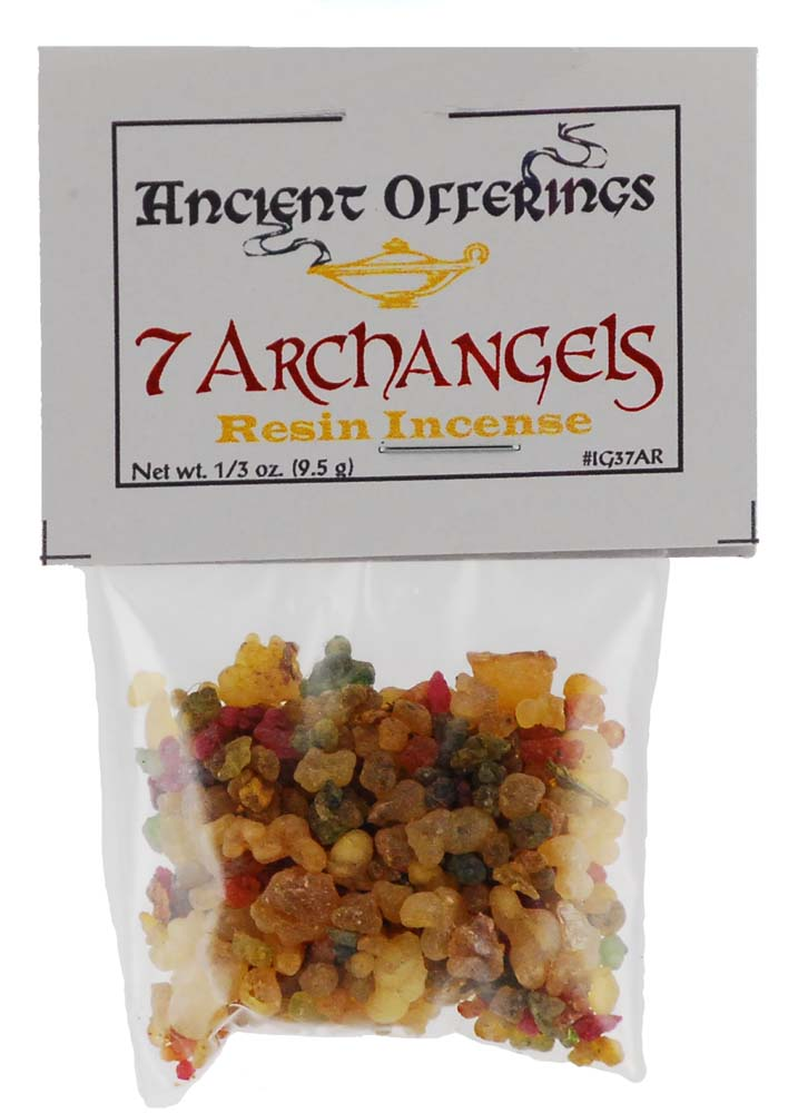 7 Archangels resin incense 1/3oz