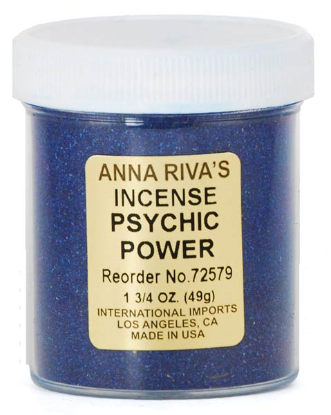 Psychic Power powder incense Anna Riva