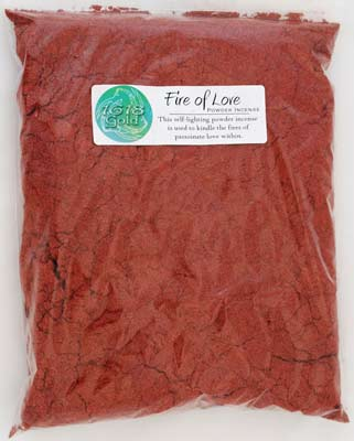 Fire of Love Powder Incense 1618 gold 1#