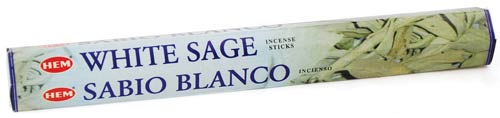 White Sage HEM Stick Incense 20gms