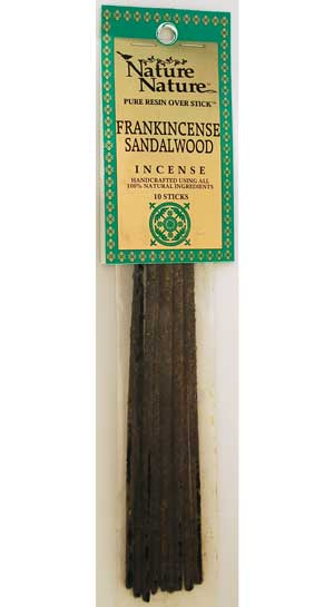 Frankincense/ Sandalwood Nature Stick Incense