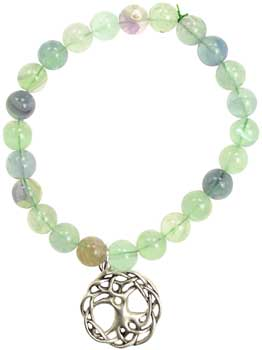 Green Fluorite Happiness Tree of Life