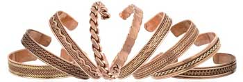 Copper Magnetic Cuff bracelet (varied)