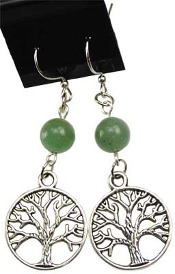 Green Aventurine Tree of Life