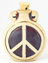 Peace Sign Oil Bottle