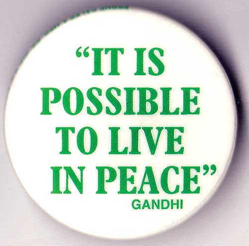 It is Possible to Live in Peace