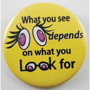 What You See Depends on What You Look For