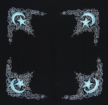 Celtic Moon Altar Cloth/Scarf