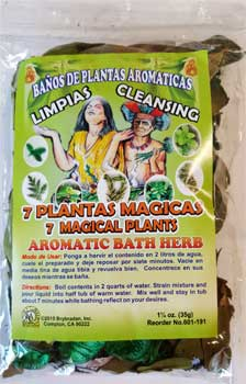 7 Magical Plants bath herb