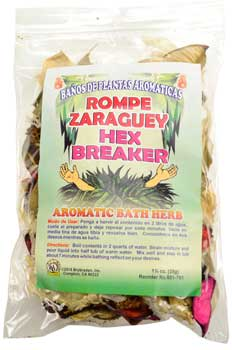 Hex Breaker bath herb
