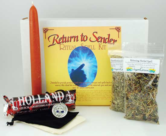 Return To Sender Boxed ritual kit
