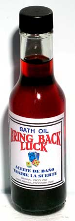 5oz Bring Back Luck Bath Oil