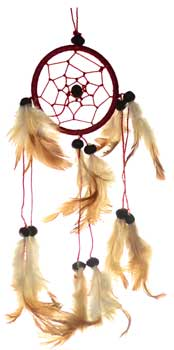"3"" Brown dream catcher"