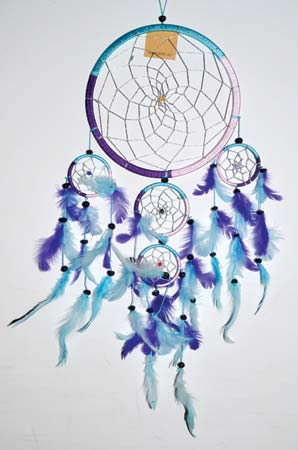 "8"" 5 Rings dream catcher"