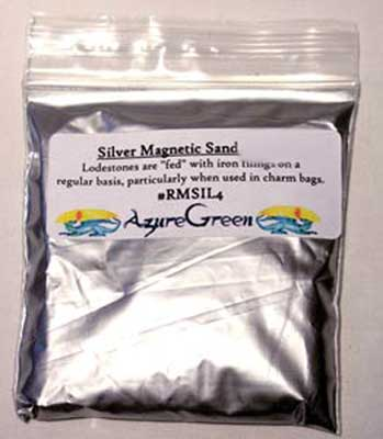Silver Magnetic Sand 1oz
