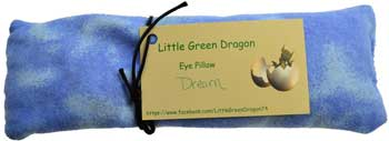 Dream eye pillow
