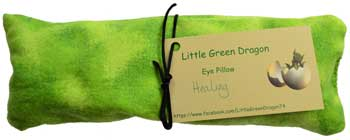 Healing eye pillow