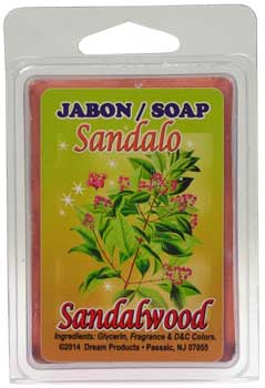 Sandalwood glycerine soap 3.5oz