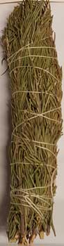 Rosemary smudge stick 8""