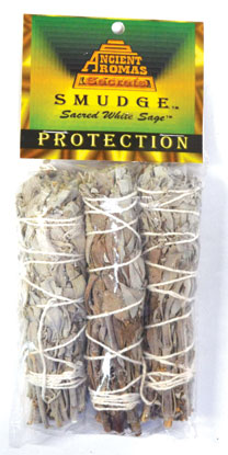 Baby White Sage smudge stick 3-Pack