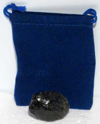 Tektite With Pouch