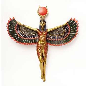 Open Winged Isis Wall Hanging