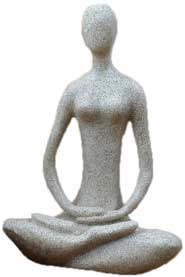 "8"" Lotus Yoga Goddess"